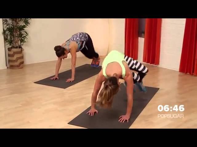 Интенсивные жиросжигающие упражнения