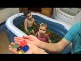 Бассейн с гигантскими шариками ORBEEZ сюрпризы игрушки и лизуны Giant Орбиз Challenge