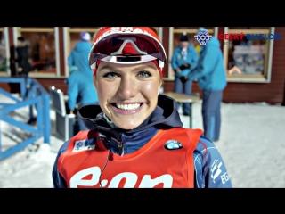 Габриэла Соукалова сегодня слишком рано отпраздновала успех, но все равно подарила много улыбок после гонки