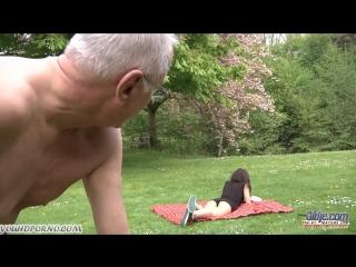 Инцест - Внучка совратила деда