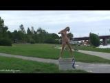 Lucie Nude in public 7