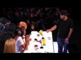 Удивительный фокусник | Smoothini- Bar Magician Flies Through Amazing Tricks - America's Got Talent 2014 | Фокусы с солью