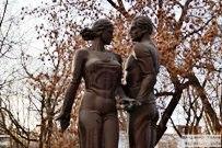 12 декабря 2012 - Скульптура Влюбленным в Тольятти