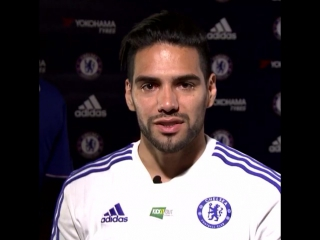 A message for #Chelsea fans from new signing Radamel Falcao. vk.com/chelsea