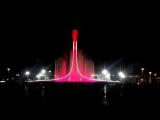 Поющие фонтаны в Олимпийском парке г. Сочи (3.11.15)