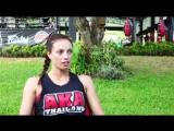 Боец #АКАТаиланд - Тереза Винтермайер - чемпионка мира по версии WMC