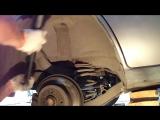 Opel Vectra A замена задних амортизаторов