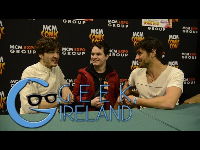 Geek Ireland meets Alexander Vlahos and Eoin Macken from Merlin