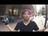 Хулиганская поездка по Нью-Йорку на велике BMX