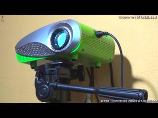 Домашние ГаджеТы: китайский проектор H60 Portable LED LCD после года использования