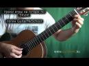 В МИРЕ ЖИВОТНЫХ на Гитаре УРОК 1