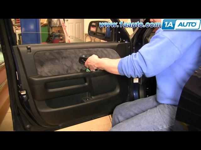 Как снять дверные панели на CR V 02 06 смотреть онлайн без регистрации