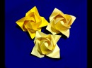 Origami rose flower Ideas for gift decor Fukuyama Rose Ideas for Christmas