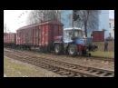 Локомобиль ММТ-2 на базе трактора ХТЗ (мотовоз, локотрактор) производства ООО Спецкран