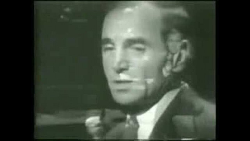 Charles Aznavour - Yesterday When I Was Young 1966