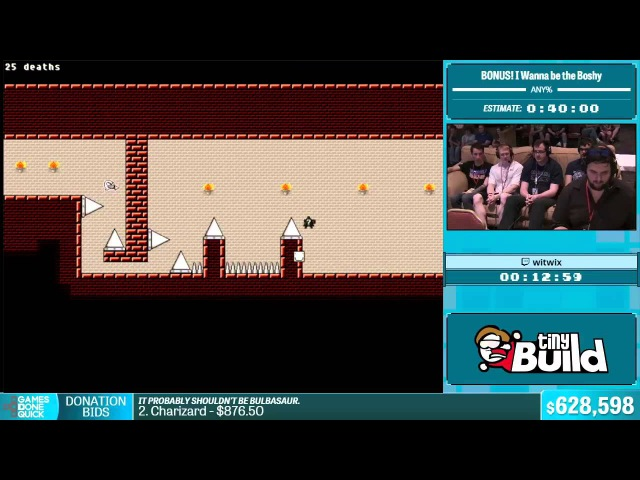 I Wanna be the Boshy by witwix in 38:31 - Summer Games Done Quick 2015 - Part 133