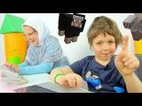 МайнКрафт. В гостях у Бабушки! ИгроБой Адриан. Видео для детей