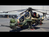 DEADLY FAST Turkish Military T129 ATAK Attack Helicopter