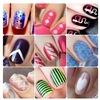 Трафареты для ногтей, слайдер-дизайн