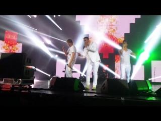 Иванушки - Тополиный пух ( Концерт группы Руки вверх! Крокус Сити Холл) 6 ноября 2015