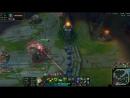 Killing enemy jungler (Evelynn) and support (Janna) 1v2 MR Attackspeed Build gives profit great escape from Mider Lulu