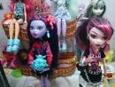 моя коллекция кукол монстер хай краткий обзор