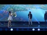 ESC 2015 San Marino: Anita Simoncini & Michele Perniola - Chain of Lights (Первая репетиция)
