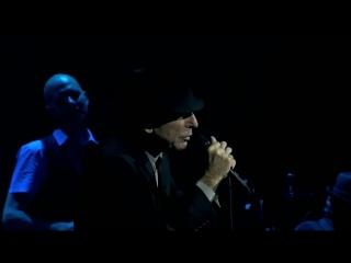 Роскошный концерт Леонард Коэна