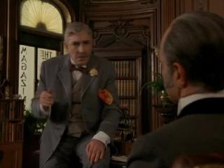 Без единой улики  (США, 1988) комедия-пародия на Шерлока Холмса, Майкл Кейн,  Бен Кингсли -советский дубляж