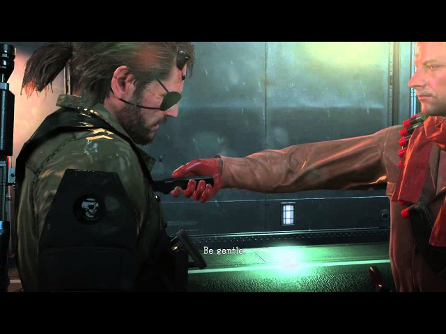 METAL GEAR SOLID V: THE PHANTOM PAIN Mother Base Soldier Fight Cutscene