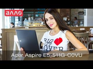 Видео-обзор ноутбука Acer Aspire E5-511G-C0VU