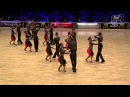 Vera Tyumen Latin Team RUS 2014 World Formation Latin DanceSport Total