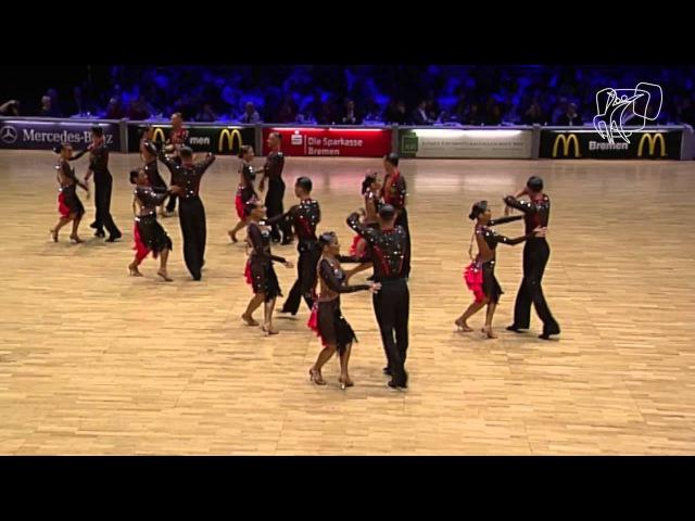 Vera Tyumen Latin Team RUS 2014 World Formation Latin DanceSport Total