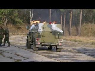 Скорпион ЛША-2Б: испытание напалмом