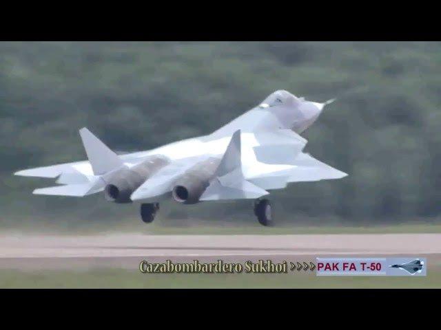 India y Perú Planean Adquirir Cazas Sukhoi PAK FA (T-50) 2016