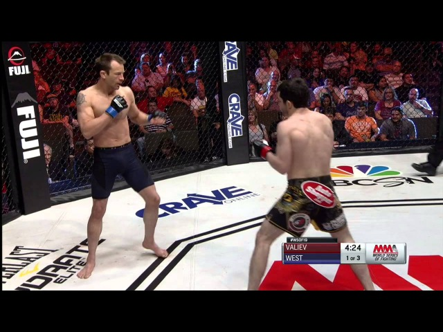 Timur Valiev vs. Ed West at WSOF 19 - March 28, 2015