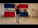 Jorjet Alcocer at BachaTu 2015 Bachata Footwork