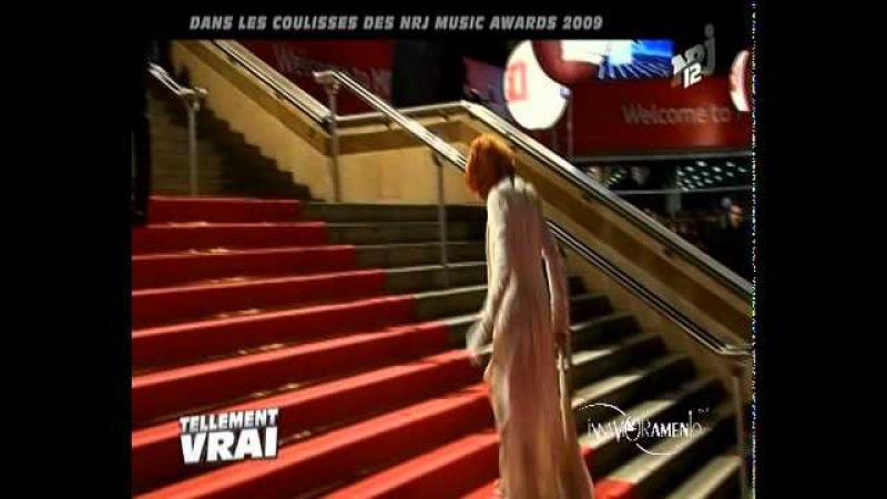 Mylene Farmer Les coulisses de NRJ Music Awards 2009 NRJ12