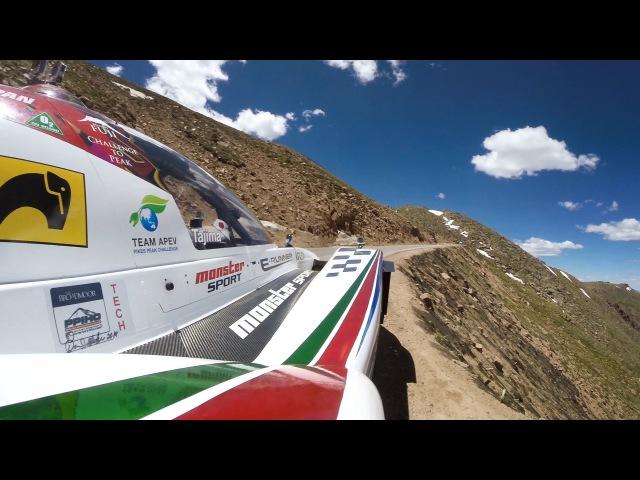GoPro Pikes Peak 2014 - Monster Tajimas Run For The Record