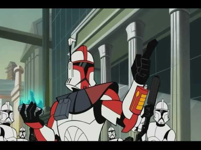 Star Wars Clone Wars Cartoon pt1 (arc troopers pt 1)