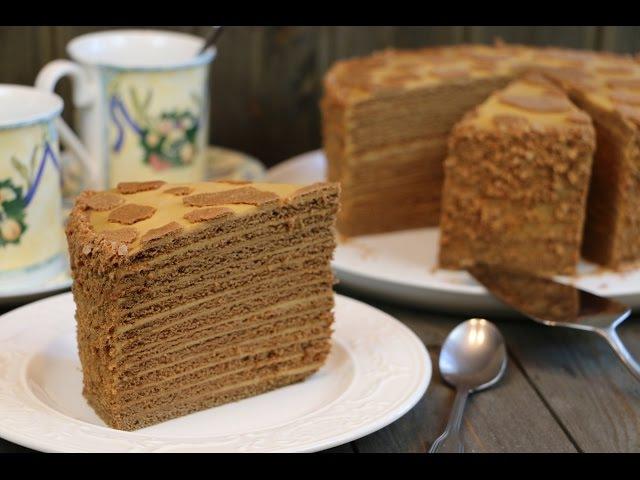 Медовый Торт Коровка ✧ Honey Cake (English Subtitles)