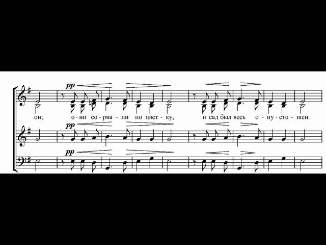 Tchaikovsky Legend Op. 54-5