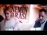Meryem Uzerli i Ozan Guven na konferencji prasowej filmu Annemin Yarasi