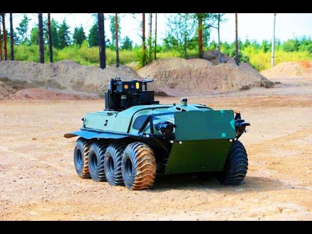 СХВАТКА! Российский боевой робот против американской армии. Боевое моделирование