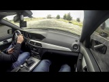 Autobahn driving: Mercedes-Benz C180 AMG 156hp 235+ km/h (casual driving)