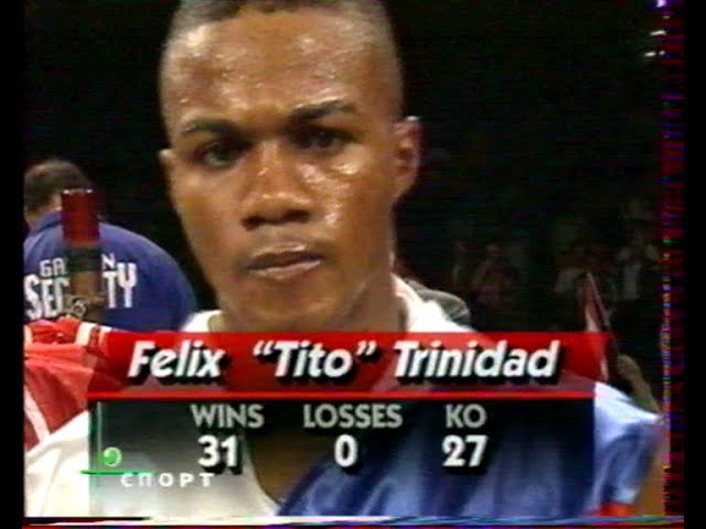 Felix Trinidad-Troy Waters(Вл.Гендлин ст)Феликс Тринидад-Трой Вотерс