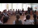 Костомукша. Павел Плотников в 1 школе. 1 мая 2015