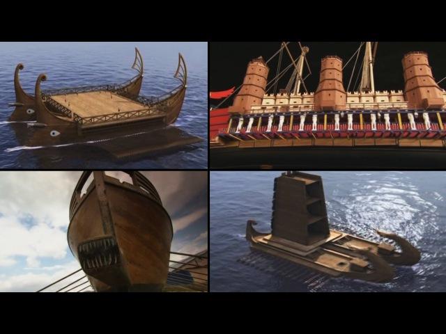 Древние открытия Удивительные корабли древности History Channel HD