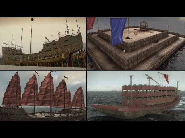 Древние открытия Супер корабли древности History Channel HD
