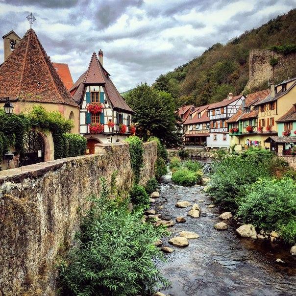 Кайзерберг - путеводитель по городам Эльзаса